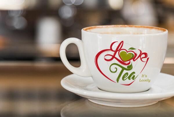 Love tea logo