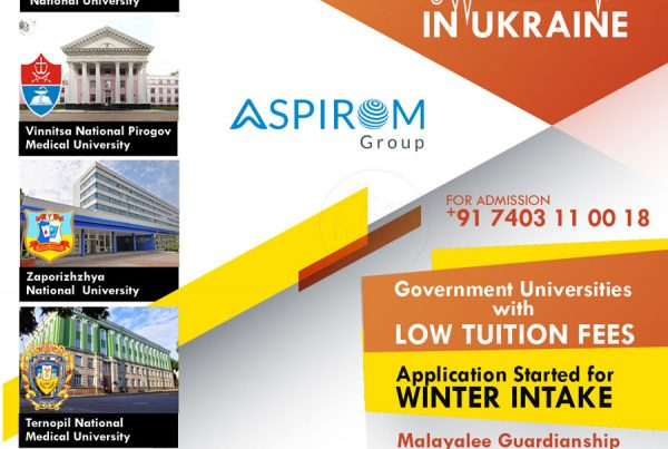 Aspirom 100 placement Poster design
