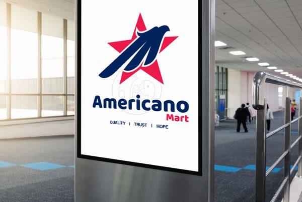 Americano Logo Business Branding