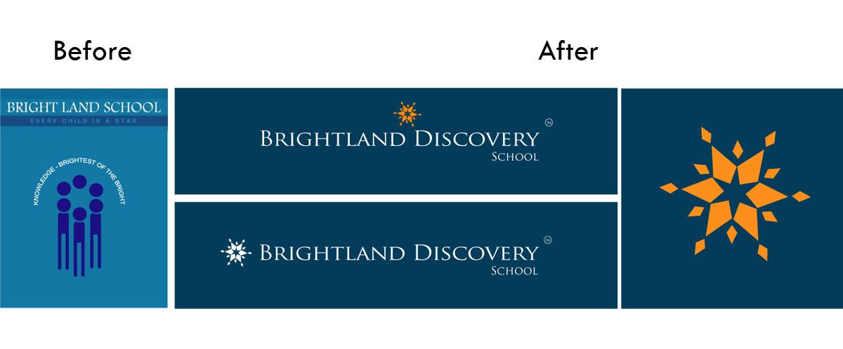 Brightland Discovery School Logo Re Brand
