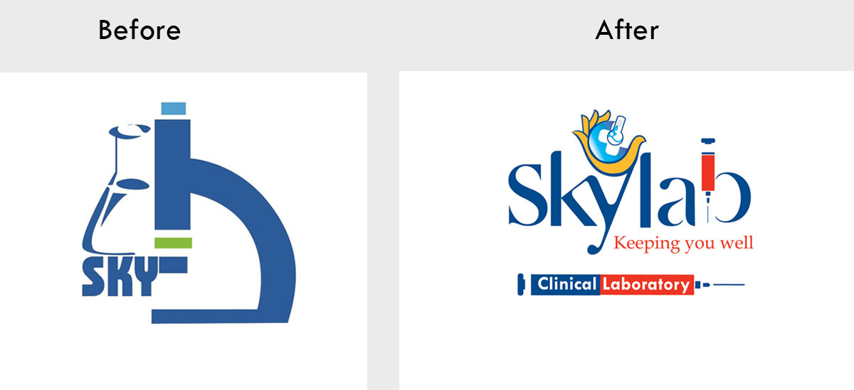 Skylab Laboratory logo-Rebranding