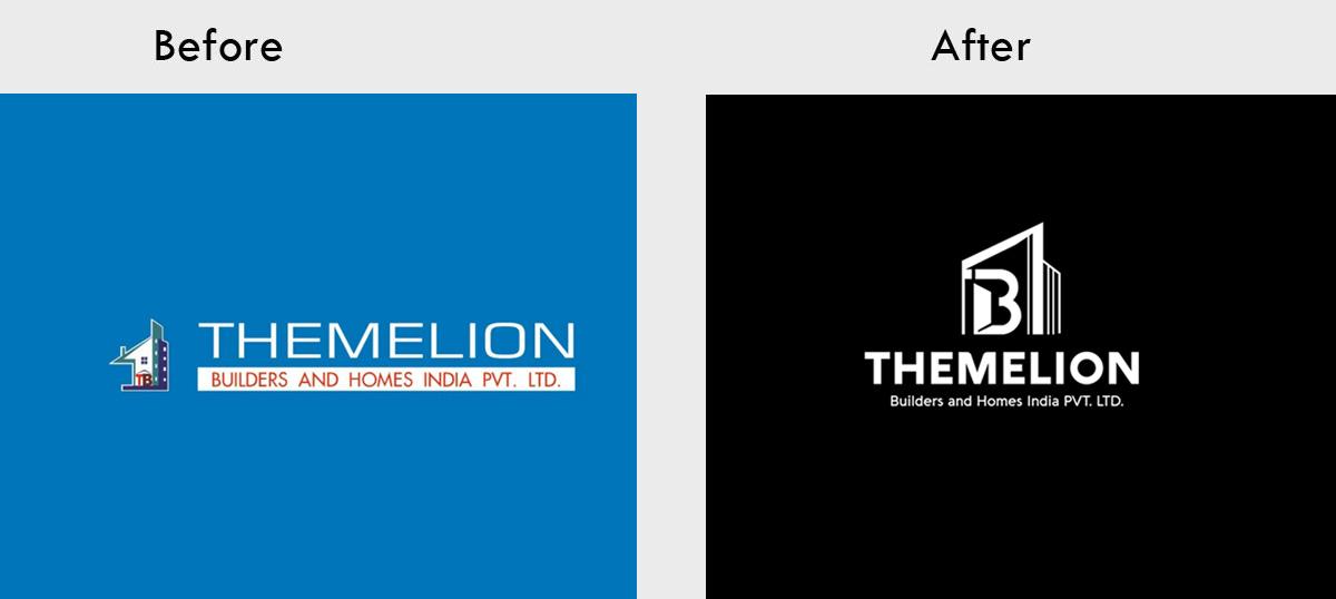 THEMELION Builders Logo Re Designing